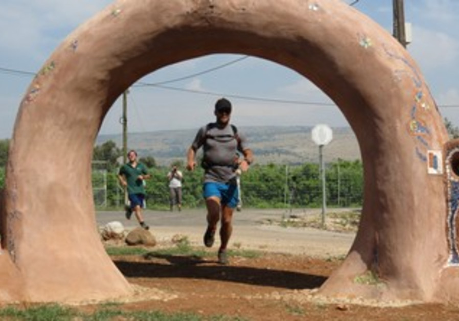 Richard Bowles finishes Israel Trail.
