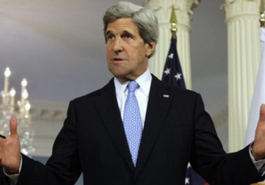 John Kerry addresses the media