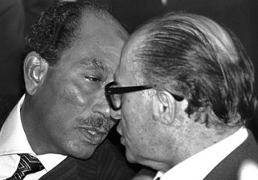 Begin with Sadat