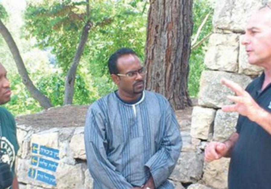 KKL-JNF JUDEAN HILLS forest and community coordinator Gidi Bashan