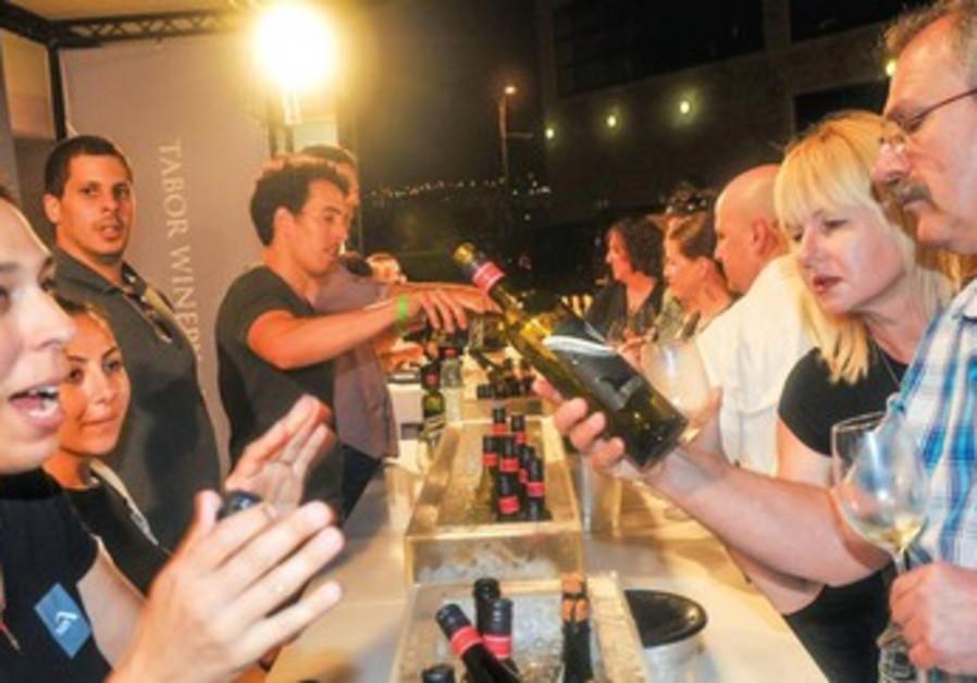 Festival du Vin blanc d'Herzliya: la consommation de blanc en augmentation.