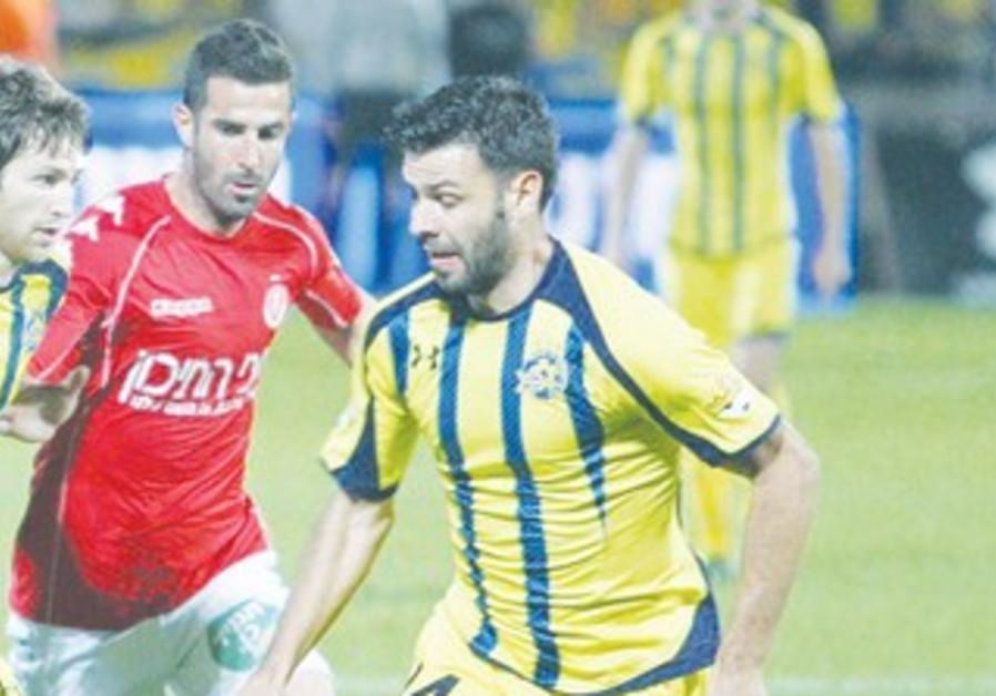Maccabi Tel Aviv's Roberto Caulautti 370