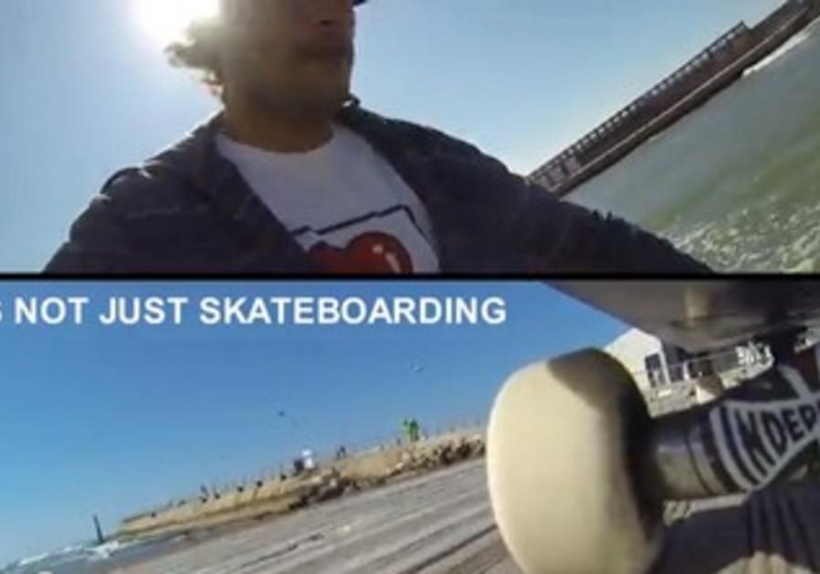 Skating in Tel Aviv