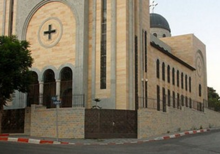 Coptic church in Ramallah