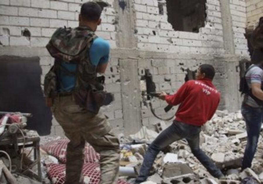 Yet another firefight in Syria.