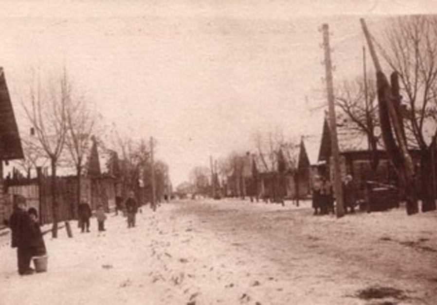 Shtetl in Poland