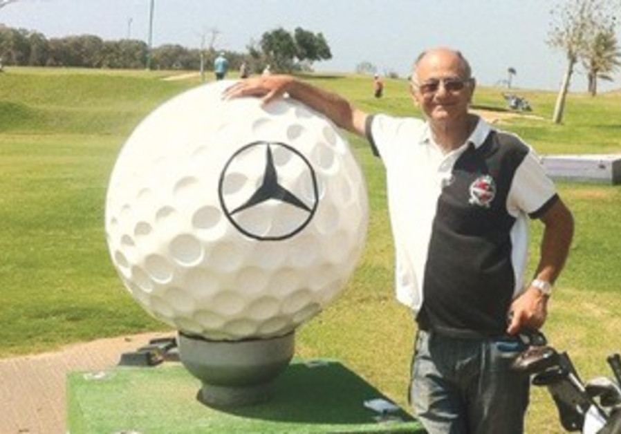 WINNER OF Drive to a Major in a Mercedes competition Roby Cohen