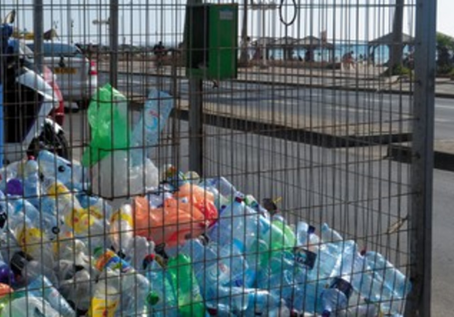 Recycling in Tel Aviv