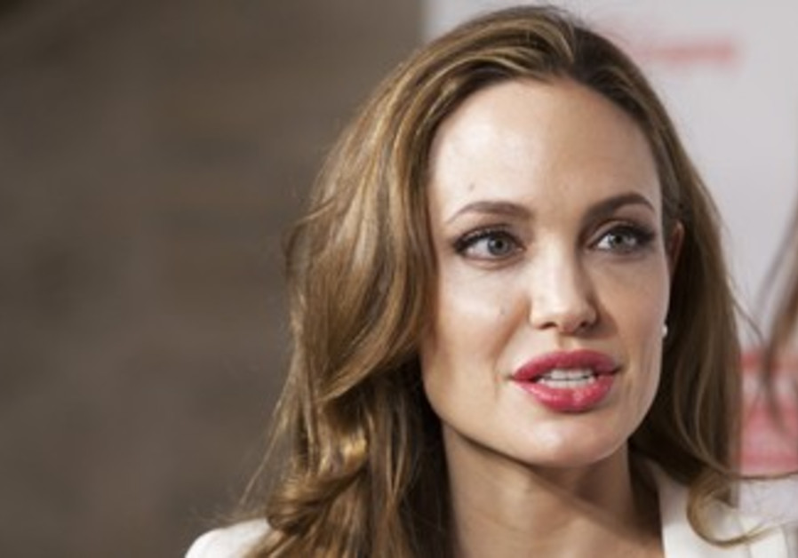 Angelina Jolie at Annual Women in the World Summit