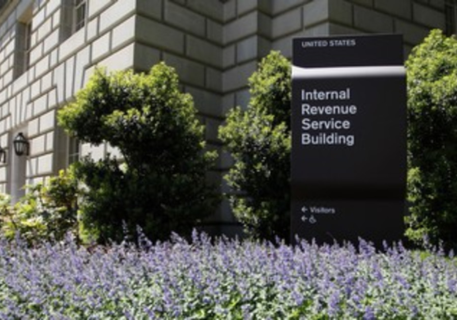 Internal Revenue Service IRS Building in Washington