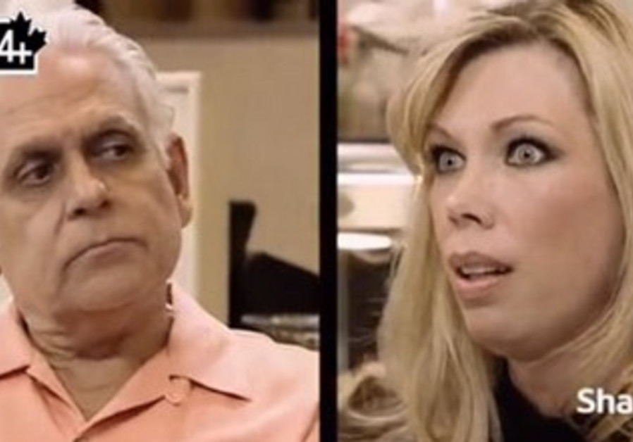 An image of Samy and Amy Bouzaglo, taken from the show Kitchen Nightmares.