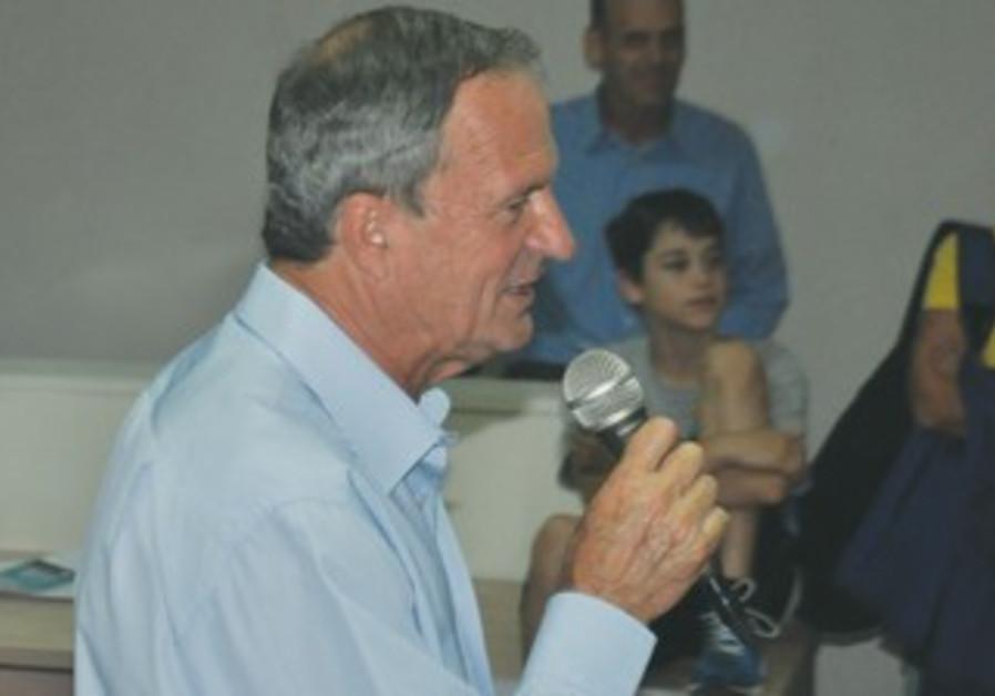 FORMER RA'ANANA mayor and MK Ze'ev Bielski