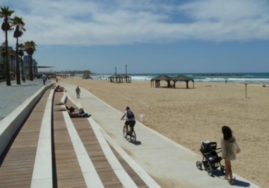 Mayslits Kassif's promenade renovation plan, Tel Aviv