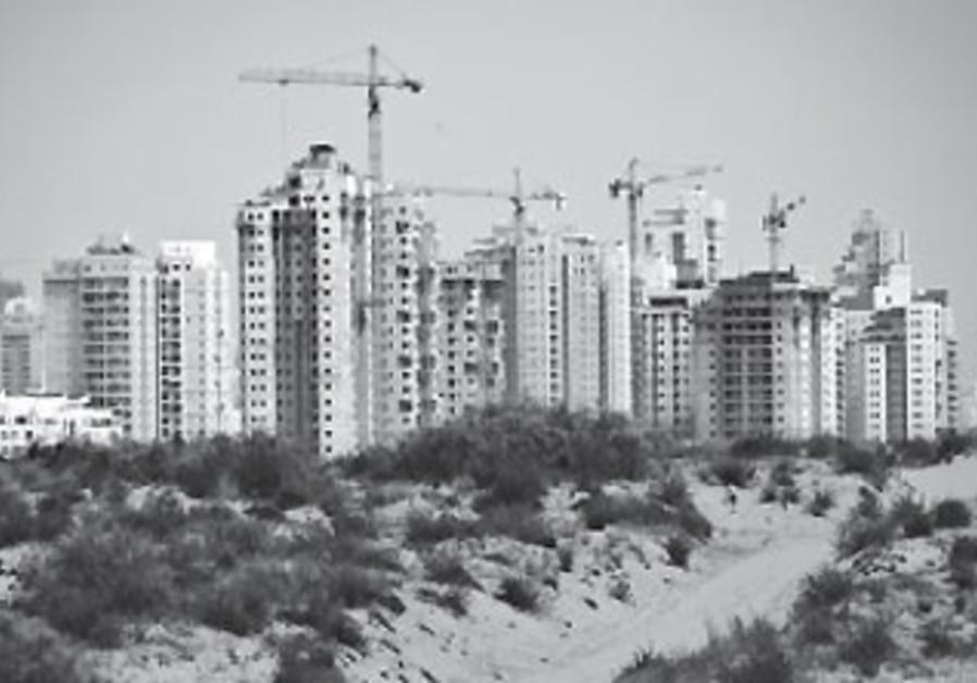 A city under construction