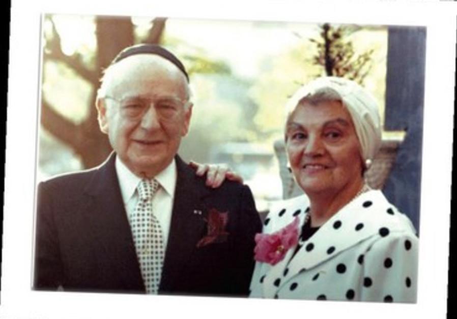 Rav Isidore-Zeharia et Léa Frankforter.
