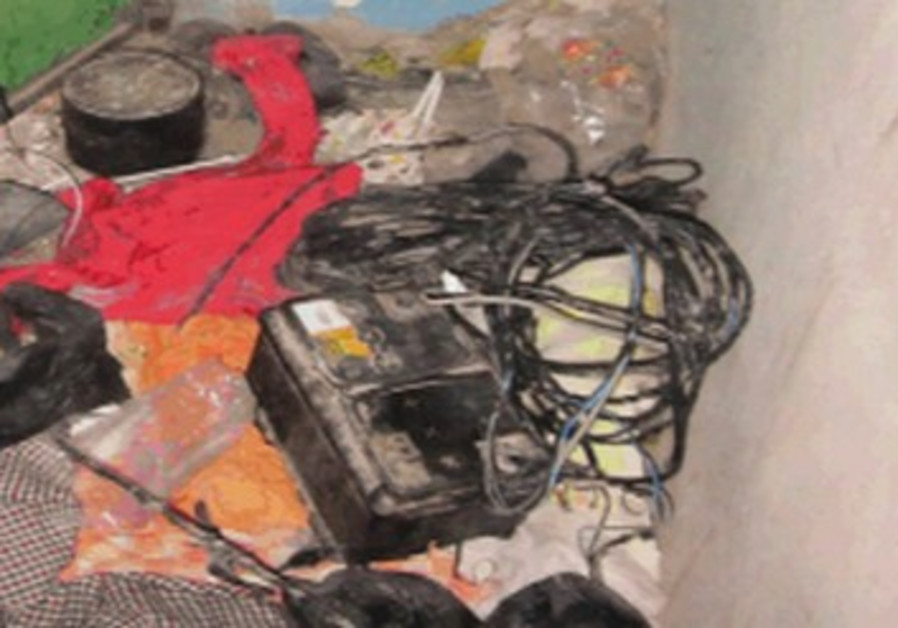 Improvised explosive device found on suspects