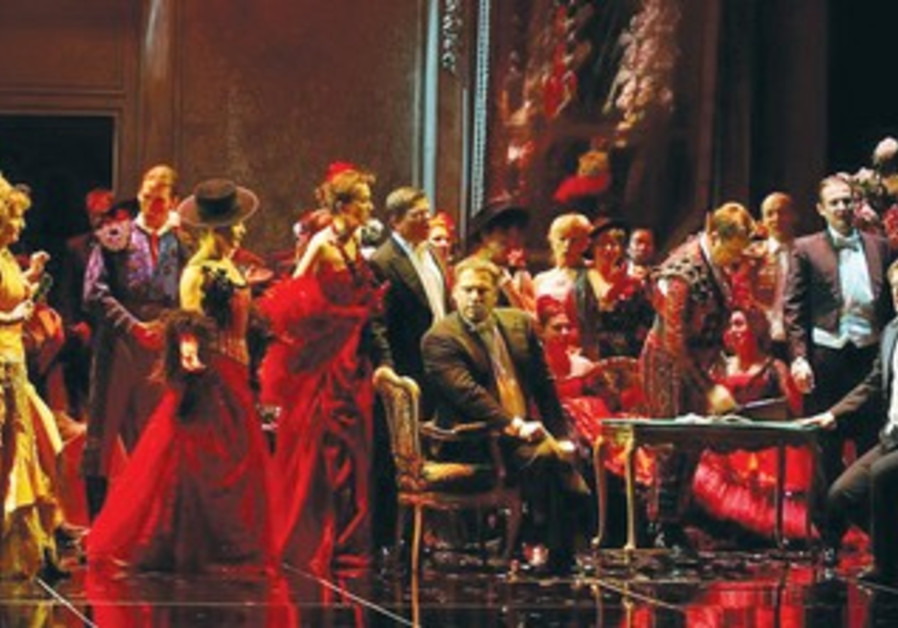 THE ISRAEL OPERA Chorus endered the crowd scenes digestible by its excellently rehearsed singing.