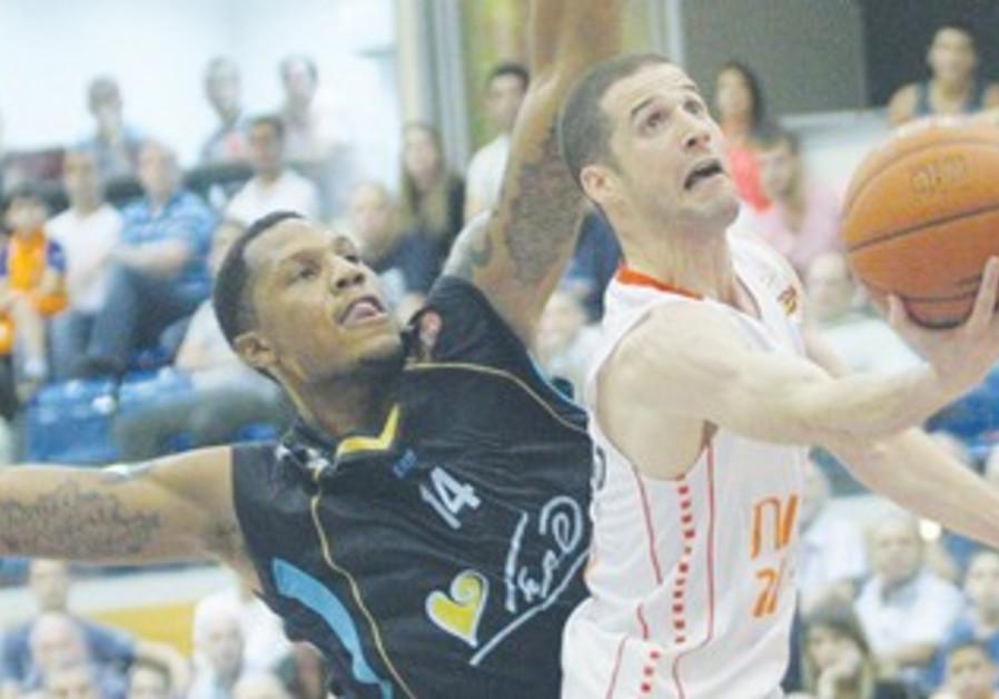 Maccabi Rishon's Amit Ben-David