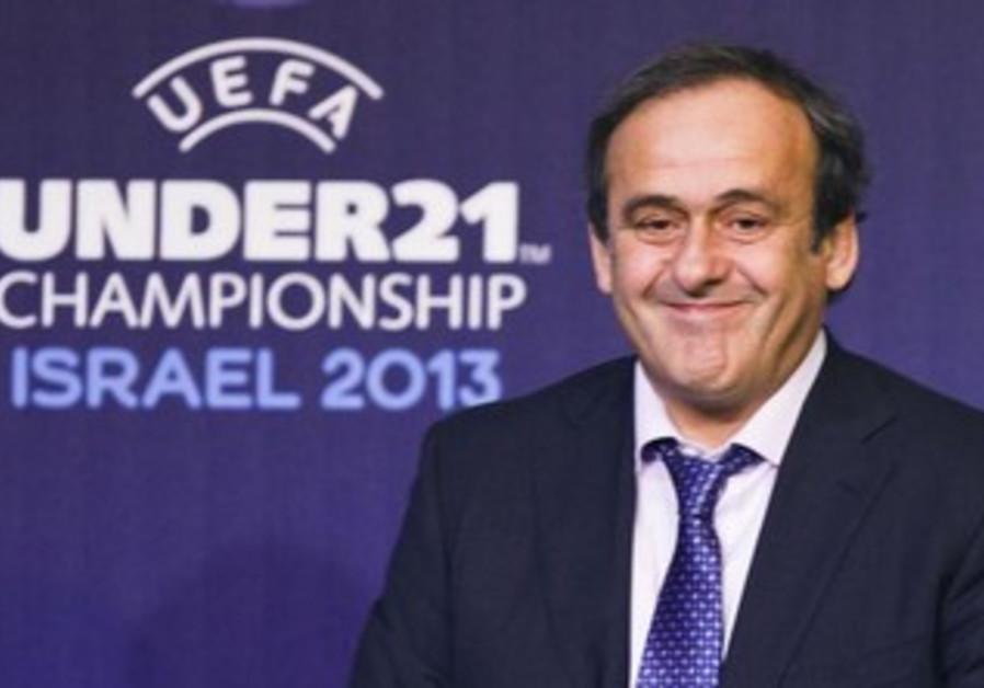 UEFA President Michel Platini.