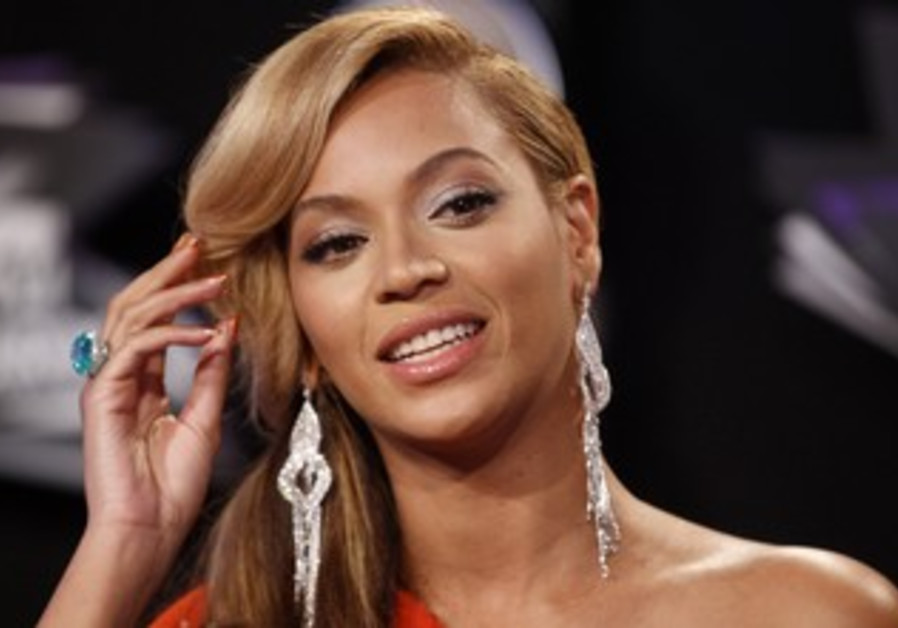 Singer Beyonce at the 2011 MTV Music Video Awards