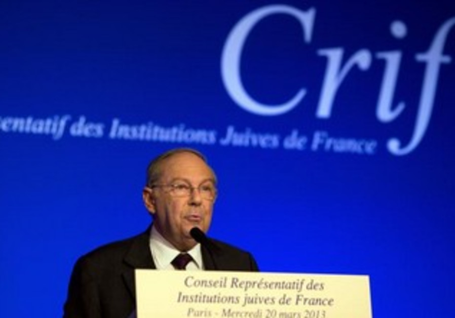 Richard Prasquier President of the Representative Council of France's Jewish Associations (CRIF).