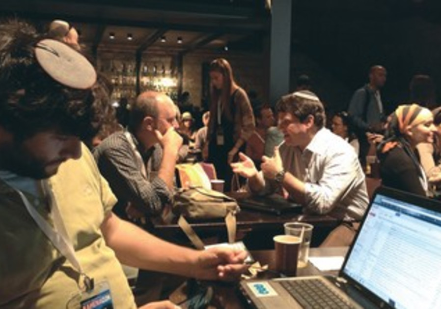Israel's digital-marketing community participate in the second annual KahenaCon conference.