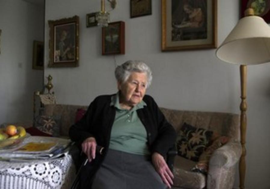 Hungarian-born Holocaust survivor Miriam Helman [file].