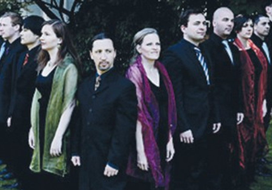 Belgian vocal ensemble Vox Luminis