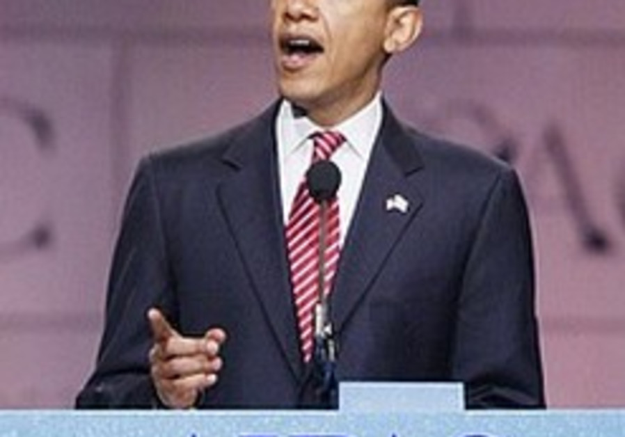 Poll: Jews unwavering in support for Obama