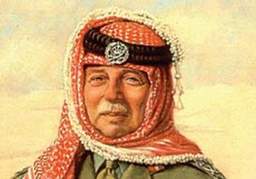 PORTRAIT of John Bagot Glubb (Glubb Pasha) in Arab Legion uniform.