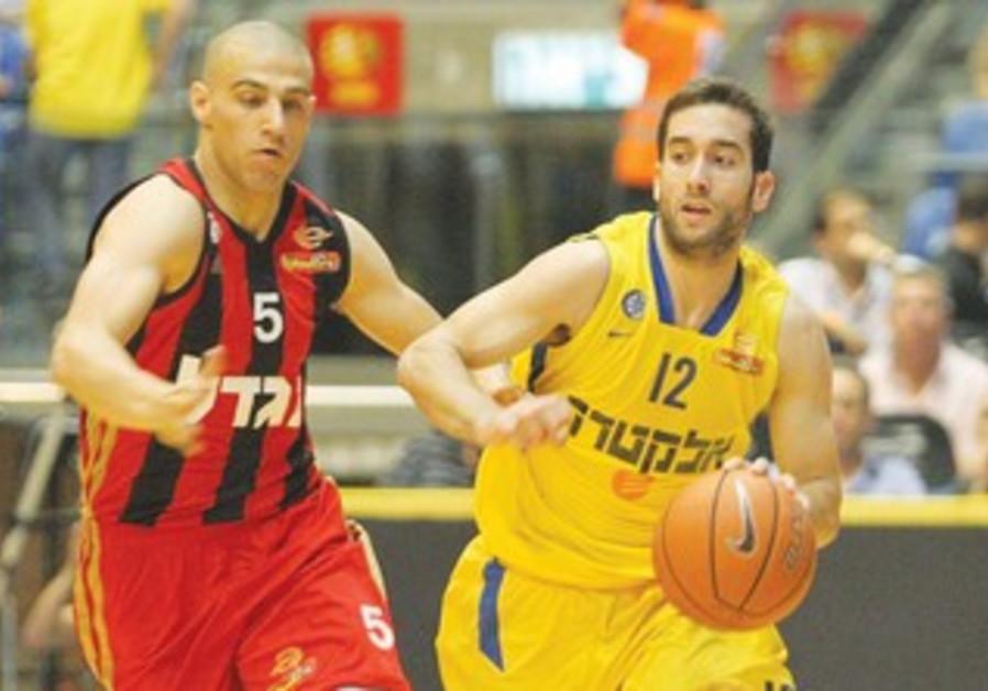Maccabi Tel Aviv's Yogev Ohayon.