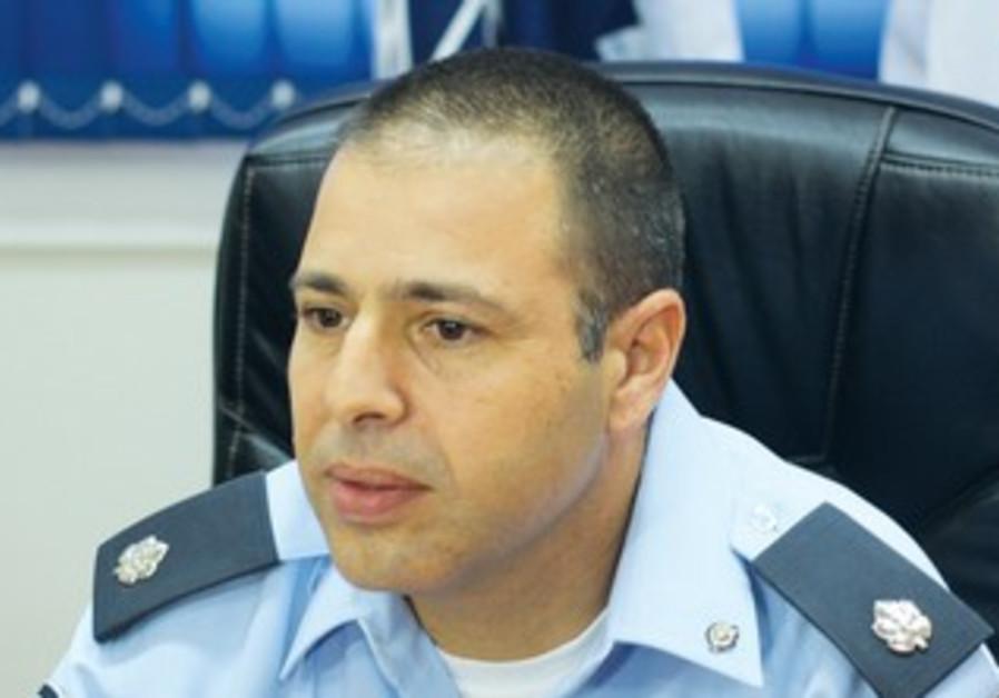 Ch.-Insp. Eran Cohen of the Negev Branch of the YAMAR investigative unit