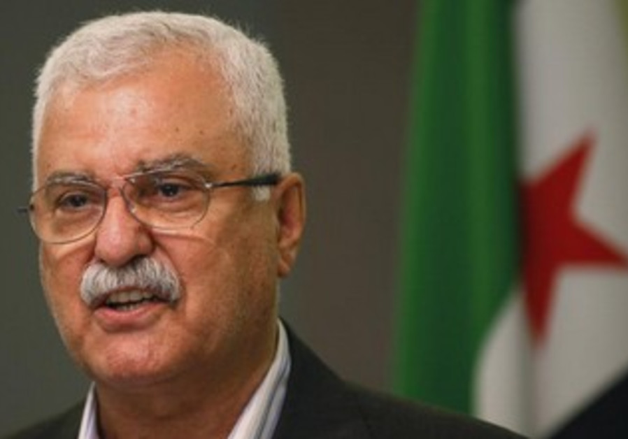 Acting head of the Syrian National Coalition George Sabra in Istanbul May 13, 2013.