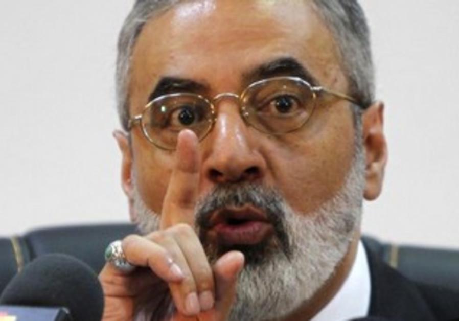 Syrian Information Minister Omran Zoabi.