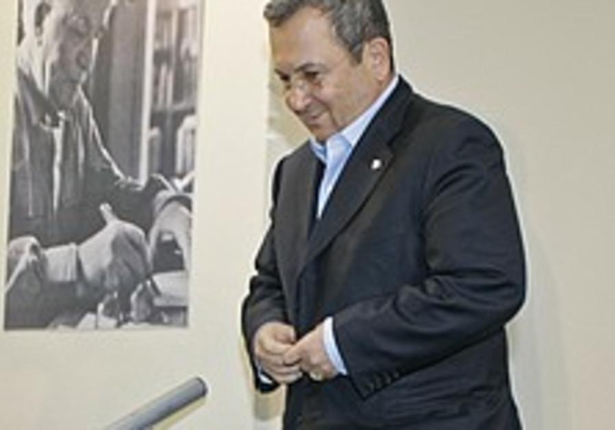Barak: Kadima is a temporary party