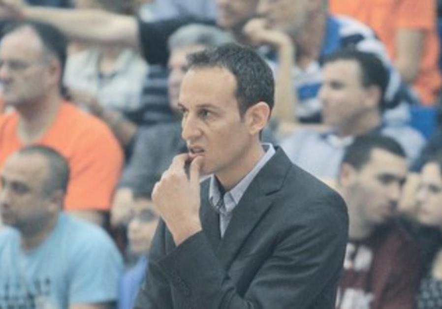 Hapoel Eilat coach Oded Katash.