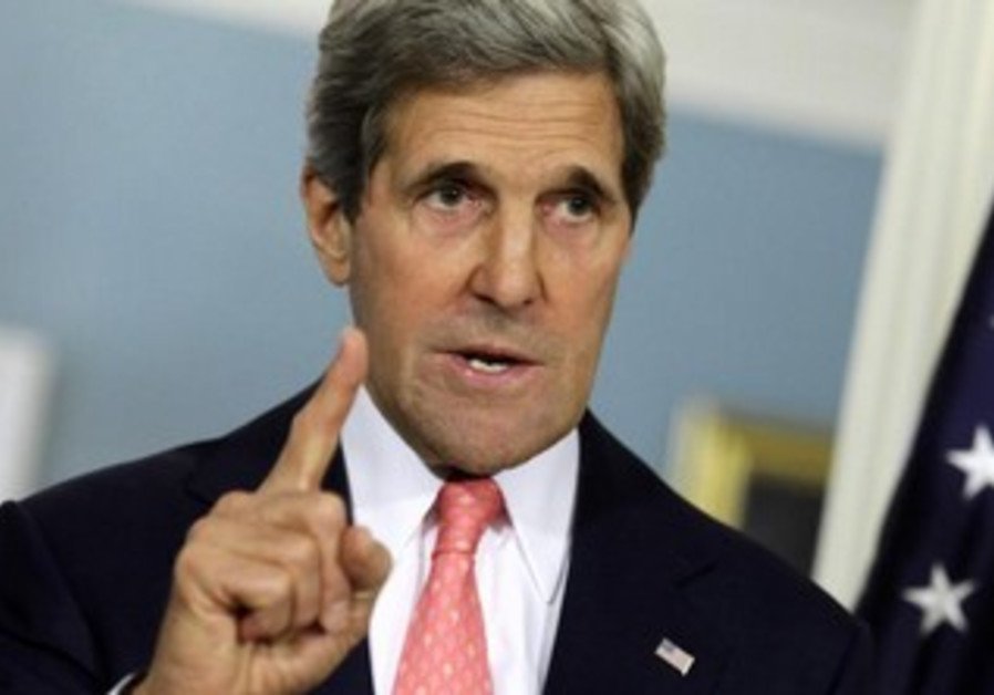 US Secretary of State John Kerry, May 31, 2013.