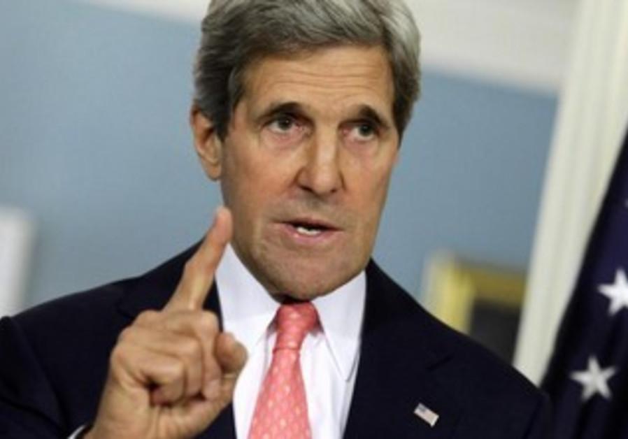 US Secretary of State John Kerry, May 31, 2013.