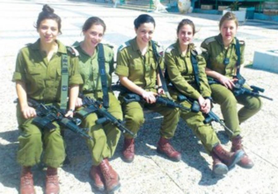 La brigade Kfir: Amit Mor, Dar Golan, Shani Kesari, Shani Davidpor, Carmel Cohen.