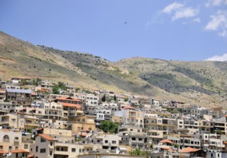 Druze village of Majdal Shams.
