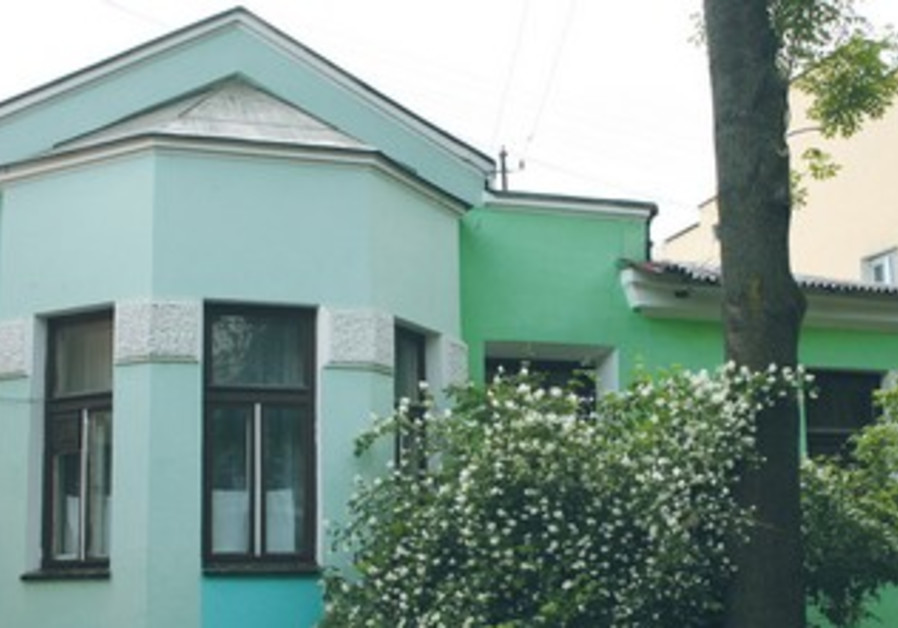 THE HOME that Menachem Begin's family lived in, in Brest, Belarus.