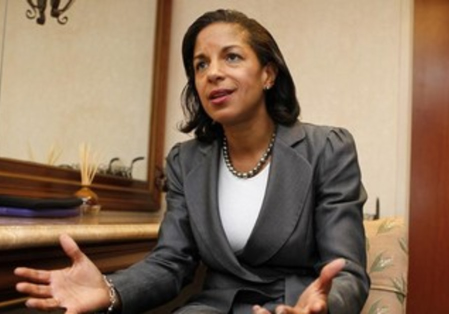 National Security Adviser Susan Rice.