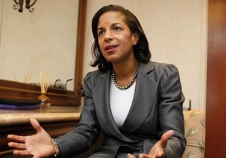 National Security Adviser Susan Rice.