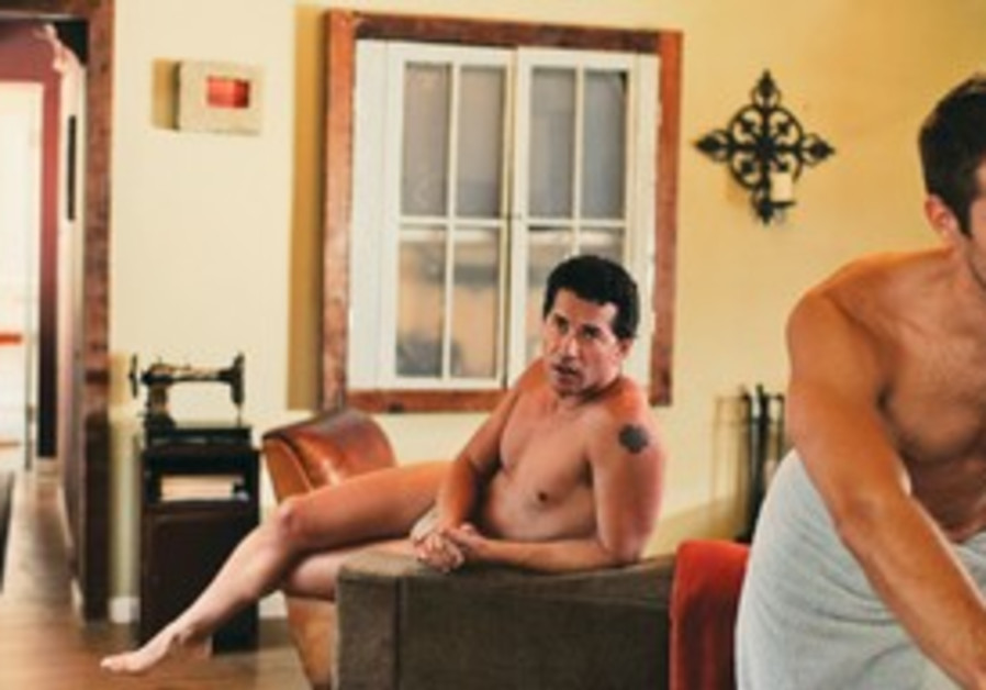 A SCENE from 'The Men Next Door,' Rob Williams' latest film