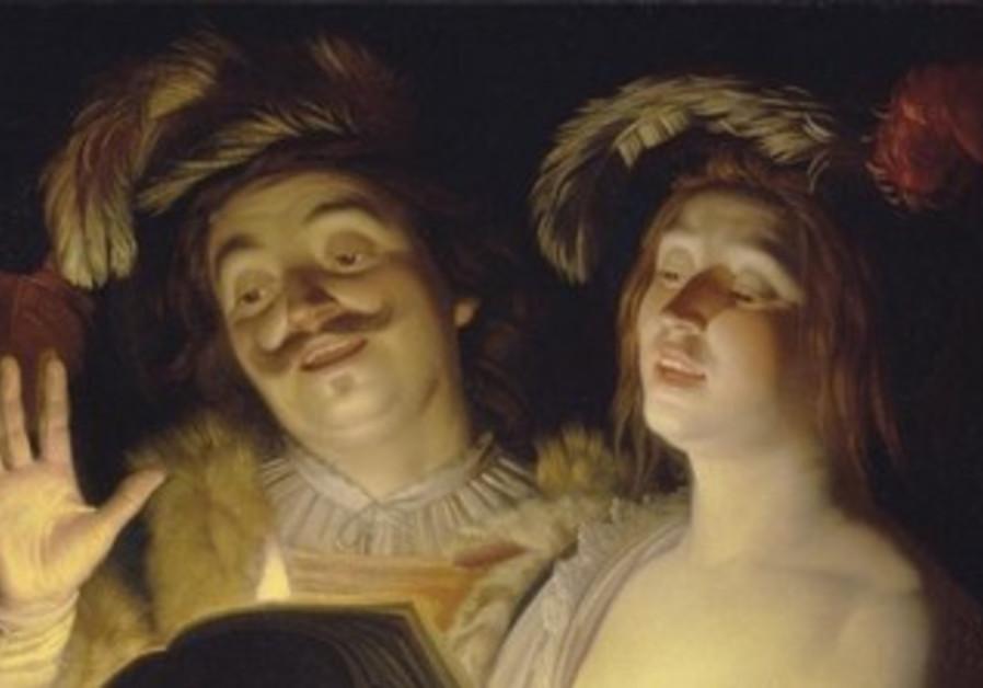 'The Duet' by Gerrit van Honthorst, 1624
