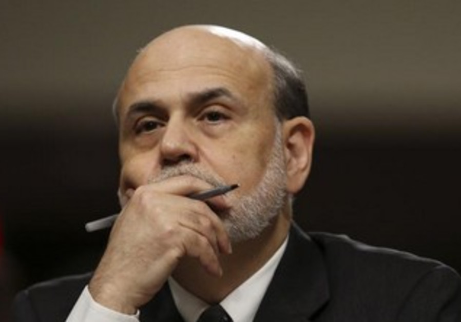 US Federal Reserve Board Chairman Ben Bernanke.