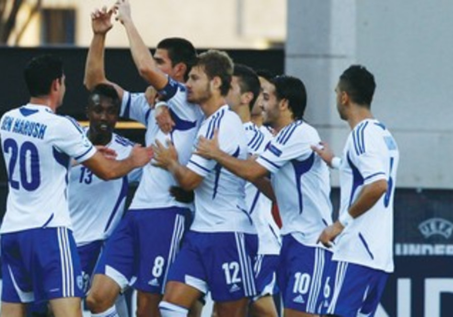 ISRAEL WAS able to score two goals and almost win on Wednesday night .