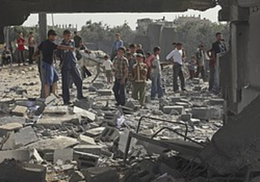 IAF strikes in Gaza after Kassam attack