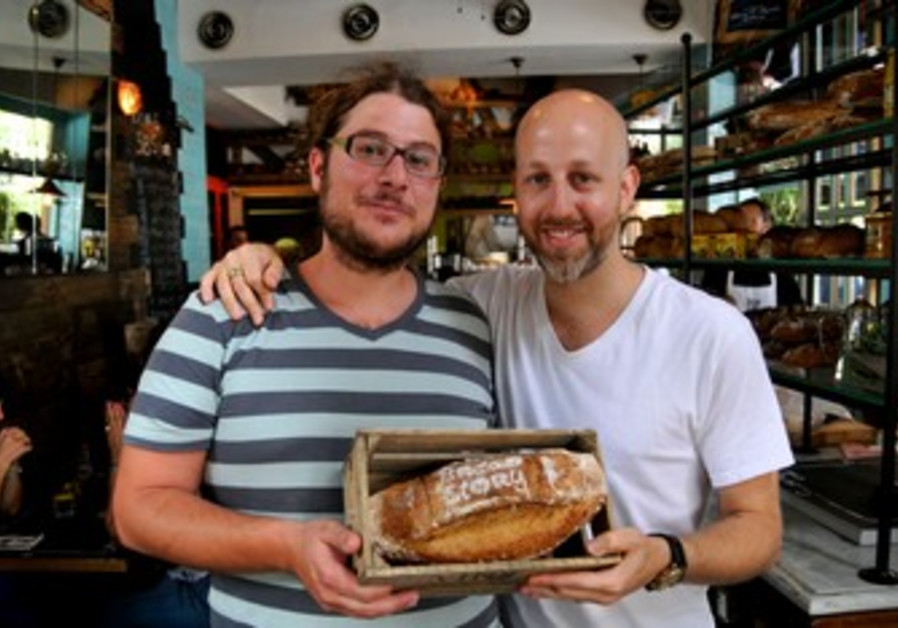 Chef Yogev Yaros and baker Yaron Schneller