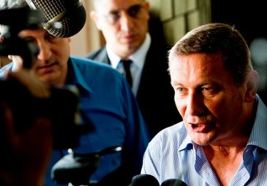 Nochi Dankner in court, June 9, 2013.
